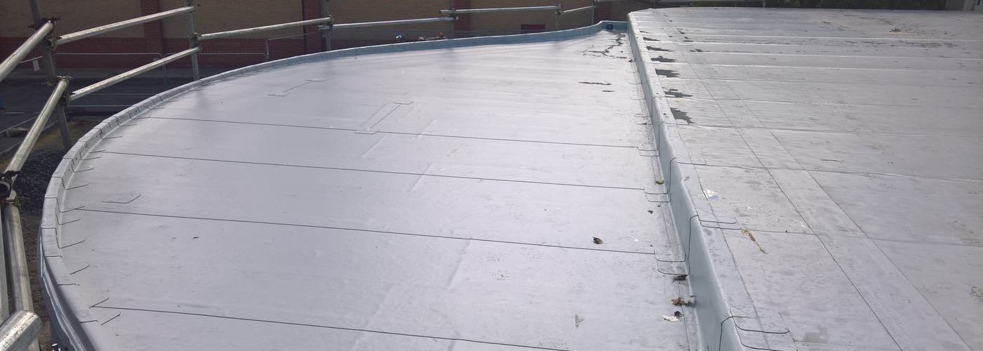 New EPDM Roof for Newbury Park Tube Station Ilford, London