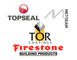 For your complete assurance, we are fully accredited by System manufacturers Topseal Ltd., Firestone Ltd, Metseam Ltd and Sealoflex Ltd